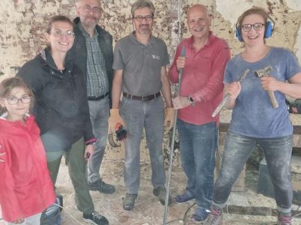 Aide aux sinistrés coordonnée par Jacques ROGISTER