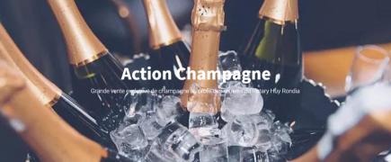 Grande vente de champagnes au profit des œuvres du Rotary Club Huy Rondia